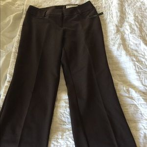 Worthington Straight Leg  Curvy Fit Pants